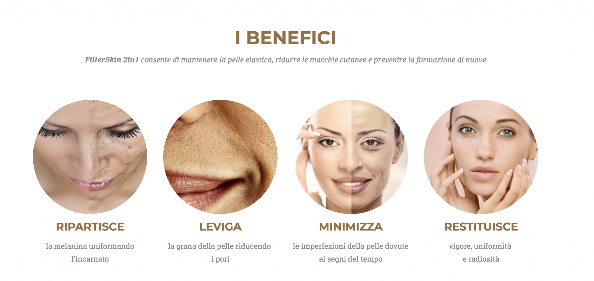 Benefici fillerskin