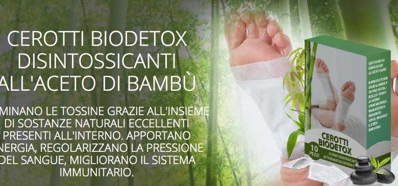 cerotti biodetox