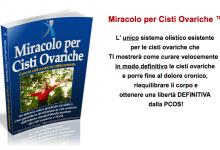 miracolo per cisti ovariche