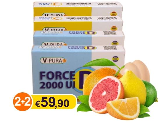 V Pura Force 2+2